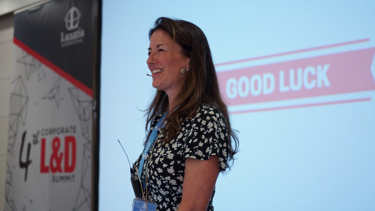 Tiffany Gaskell keynote speaking Barcelona 2019